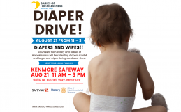 Diaper Donation Drive August 21