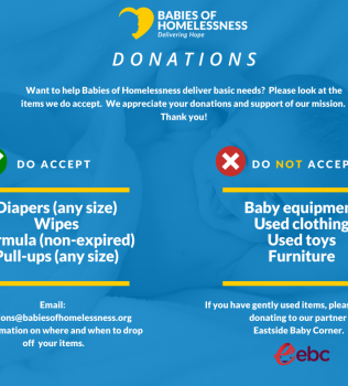In-Kind Donations (What We Accept)